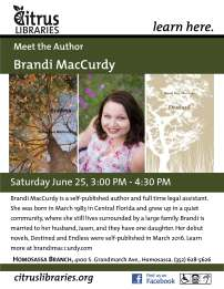Meet the Author MacCurdy Revised
